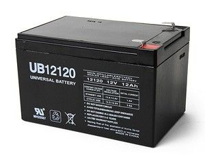 Shop UB12120 or comparable 12Volt 12AH Sealed Battery for mobility scooters, power chairs