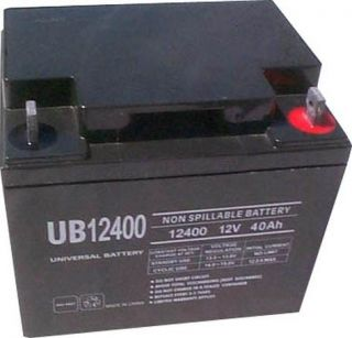 UB12400 or comparable 12Volt 40AH Sealed Battery