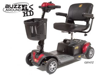 Online Shop for Buzzaround XLS HD 4 Wheel Mobility Scooter - Model GB147Z | HomeTown Mobility
