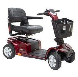 Used 2011 Pride Celebrity X Mobility Scooter 4 wheel