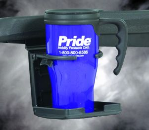 Shop Pride Cup Holder for mobility scooter or powerchair | HomeTown Mobility