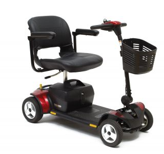 Online Shop for Pride GoGo Elite Traveller PLUS 4 Wheel- Model SC54 - Red and Blue Changeable Panels | HomeTown Mobility