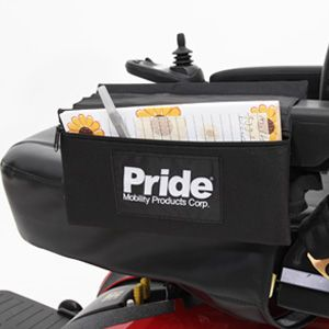 Shop Pride Armrest Saddlebag Small for mobility scooters and power chairs | HomeTown Mobility