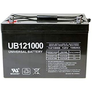 Shop UB121000 or comparable 12Volt 100AH Sealed Battery for mobility scooters, power chairs