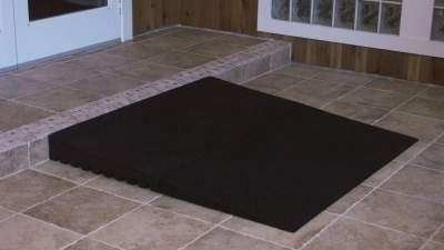 Online Shop for EZ Access Angled Entry Mat (Black) | HomeTown Mobility