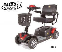 Online Shop for Buzzaround EX 4 Wheel Mobility Scooter - Model GB148 | HomeTown Mobility