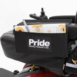 Shop Pride Armrest Saddlebag Small for mobility scooters and power chairs