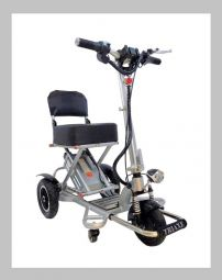 Triaxe Sport Folding 3-Wheel Mobility Scooter by Enhance Mobility