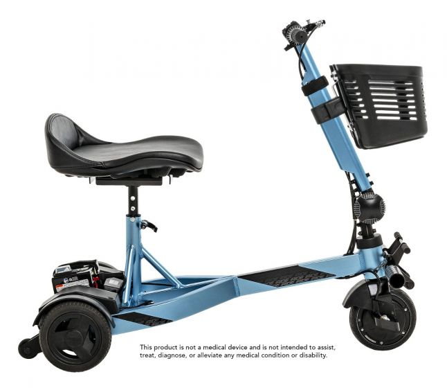 Pride I-Ride Folding Travel Scooter