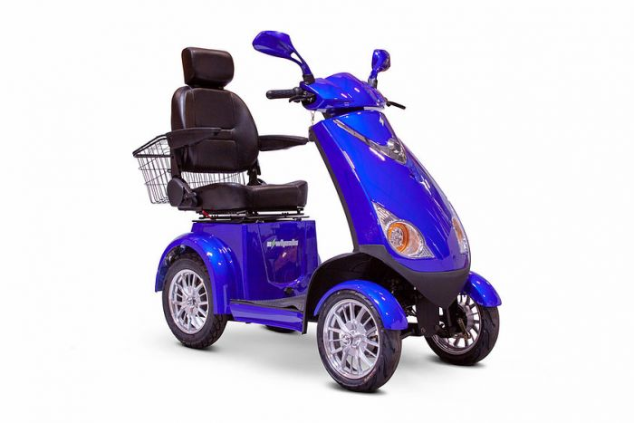 Buy the new EW-72 4 wheel recreation scooter free shipping directly to you!