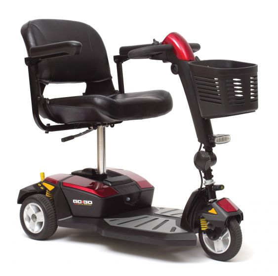 Online Shop for Pride GoGo LX - 3Wheel Mobility Travel Scooter - Model SC50LX   HomeTown Mobility