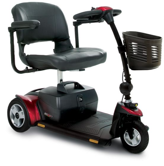 Online Shop for Pride GoGo Elite Traveller PLUS 3 Wheel - Model SC53 - Red and Blue Changeable Panels | HomeTown Mobility