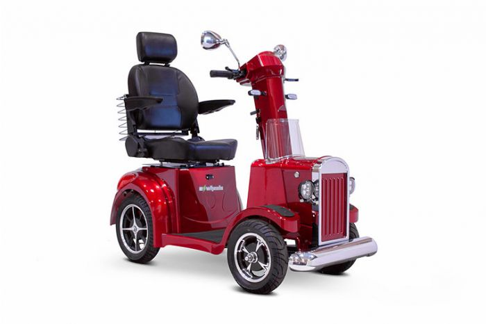 EW-Vintage 4 Wheel Mobility Scooter for sale by HomeTown Mobility. FREE SHIPPING
