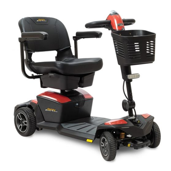 Online Shop for Pride Jazzy Zero Turn 4 Wheel Mobility Scooter - Model JazzyZTS | HomeTown Mobility