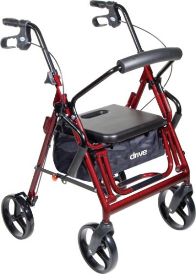 Buy the Drive Duet Rollator /  Transport chair from HomeTown Mobility