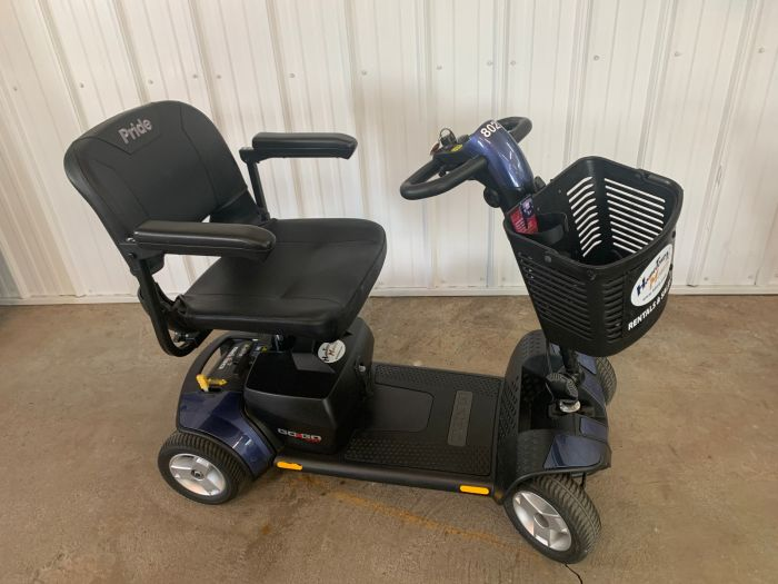 Online Shop for Used 2019 Pride GoGo Sport 4 wheel Mobility Scooter - Model S74 | HomeTown Mobility