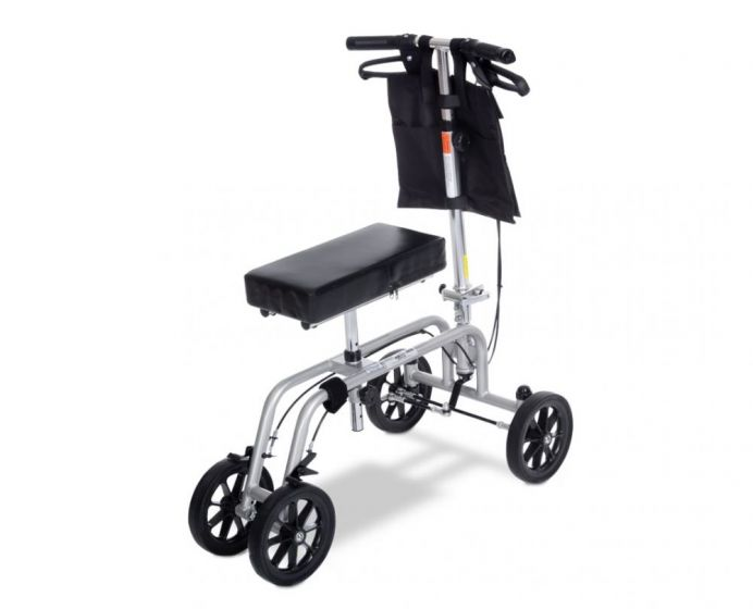 Knee Walker Adjustable Height Free Spirit® Aluminum Frame 400 lbs. Weight Capacity